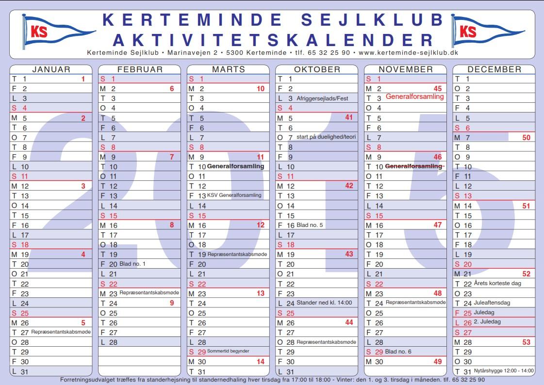 uge 32 kalender